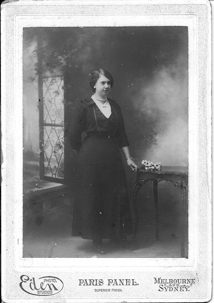 Grace Slapp – Photographic Studio Photo Sydney 1928