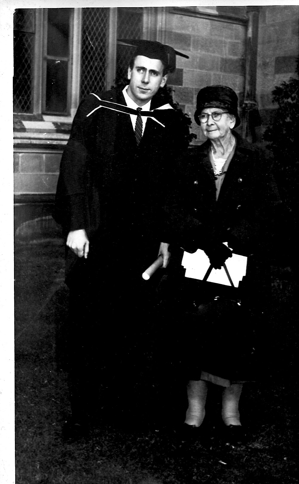 1964 graduation Grace & John Hague (son)
