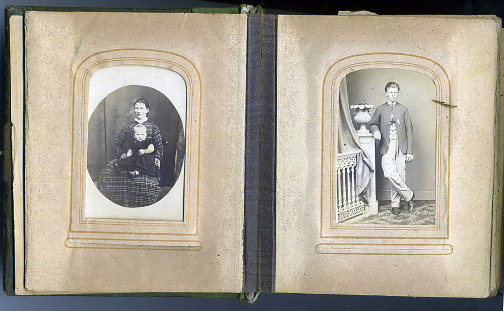 Ann Bush Photo Album circa 1878