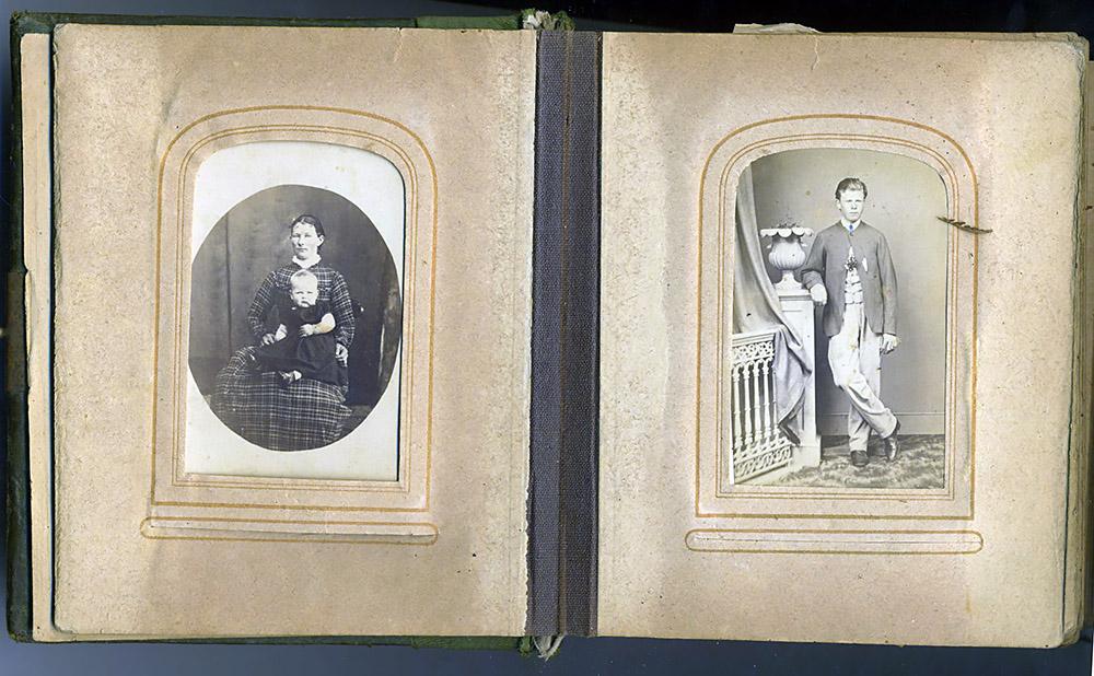 Ann Bush Photo Album circa 1878