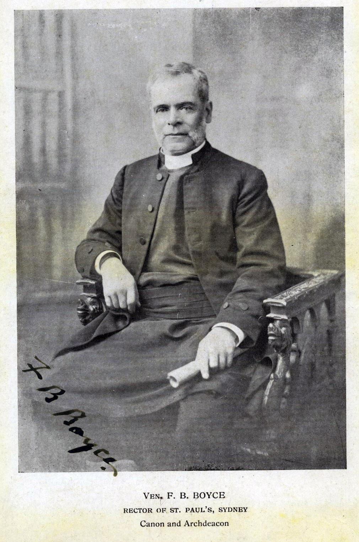 Archdeacon Boyce