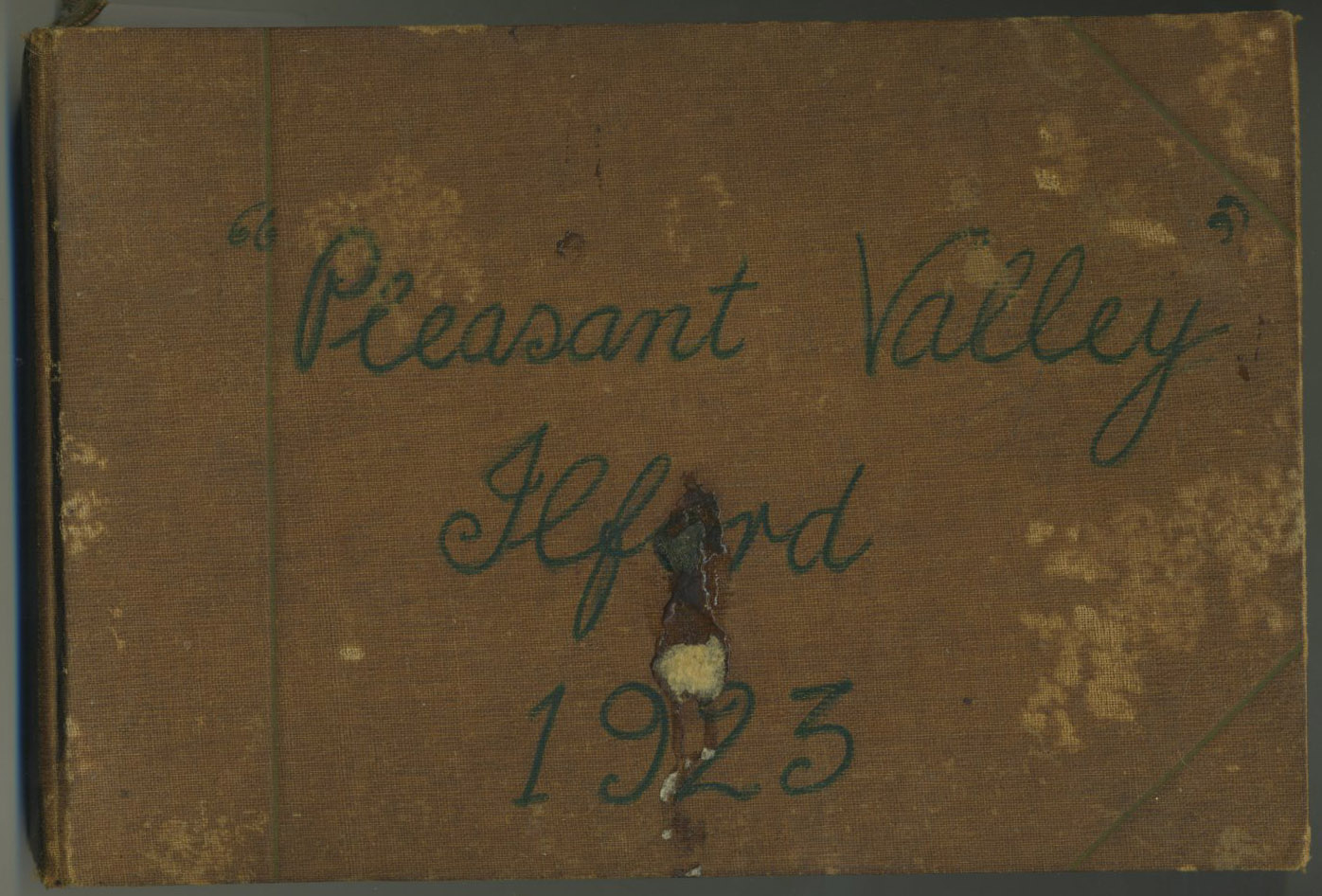 Pleasant Valley Ilford 1923 Photobook