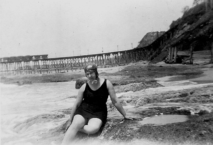 Grace at Catherine Hill Bay-coal loading wharf