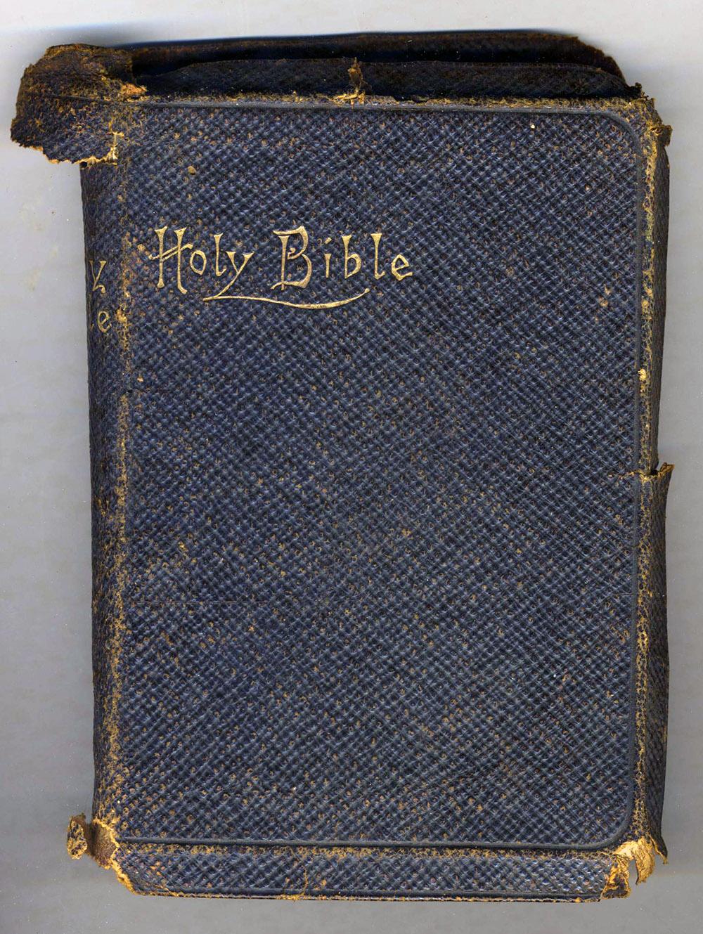 Herbert John Slapp personal Bible