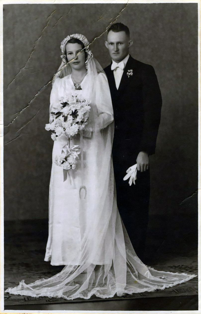 Julia Hague and George Dobe 1939