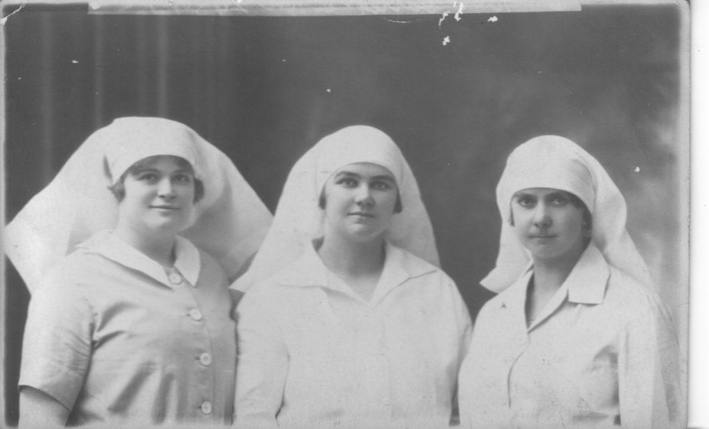 Nurse Stott, Jarrett & Slapp July 1927