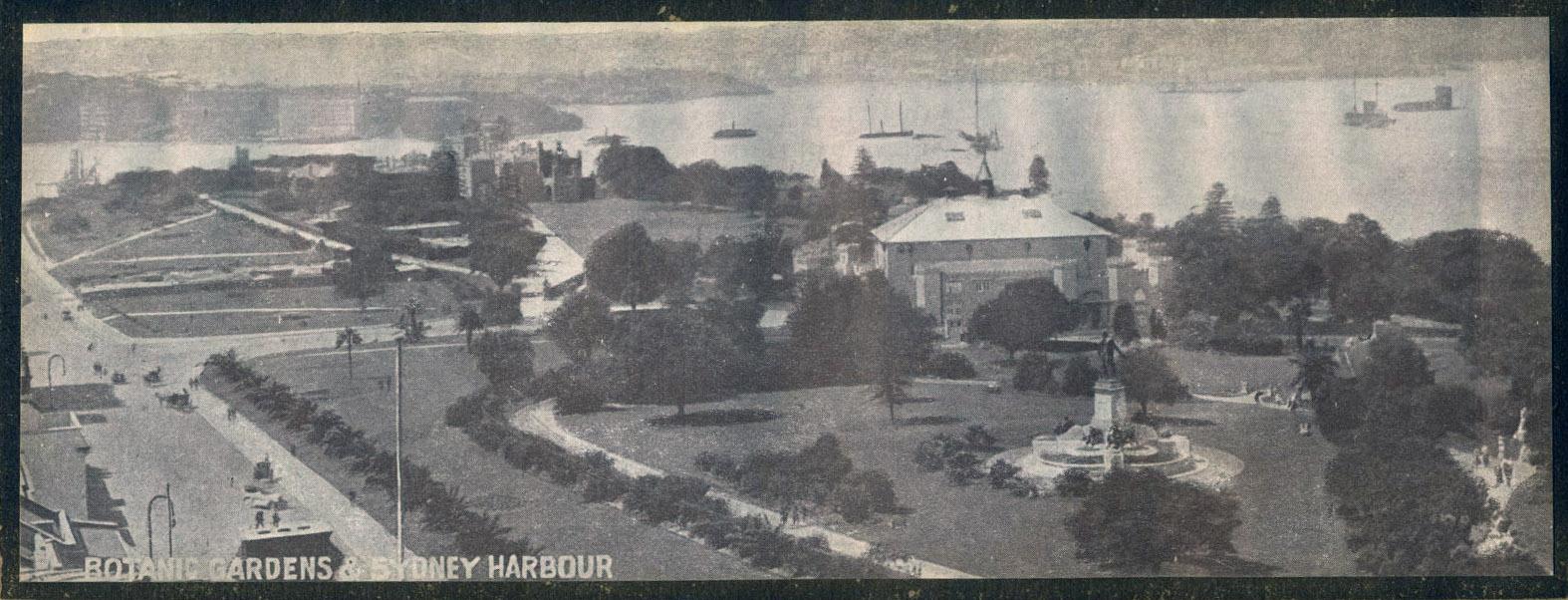 Botanical Gardens & Sydney Harbour