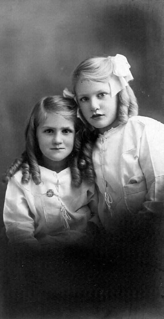 To Cousin Grace, best Love From Doris & Viola