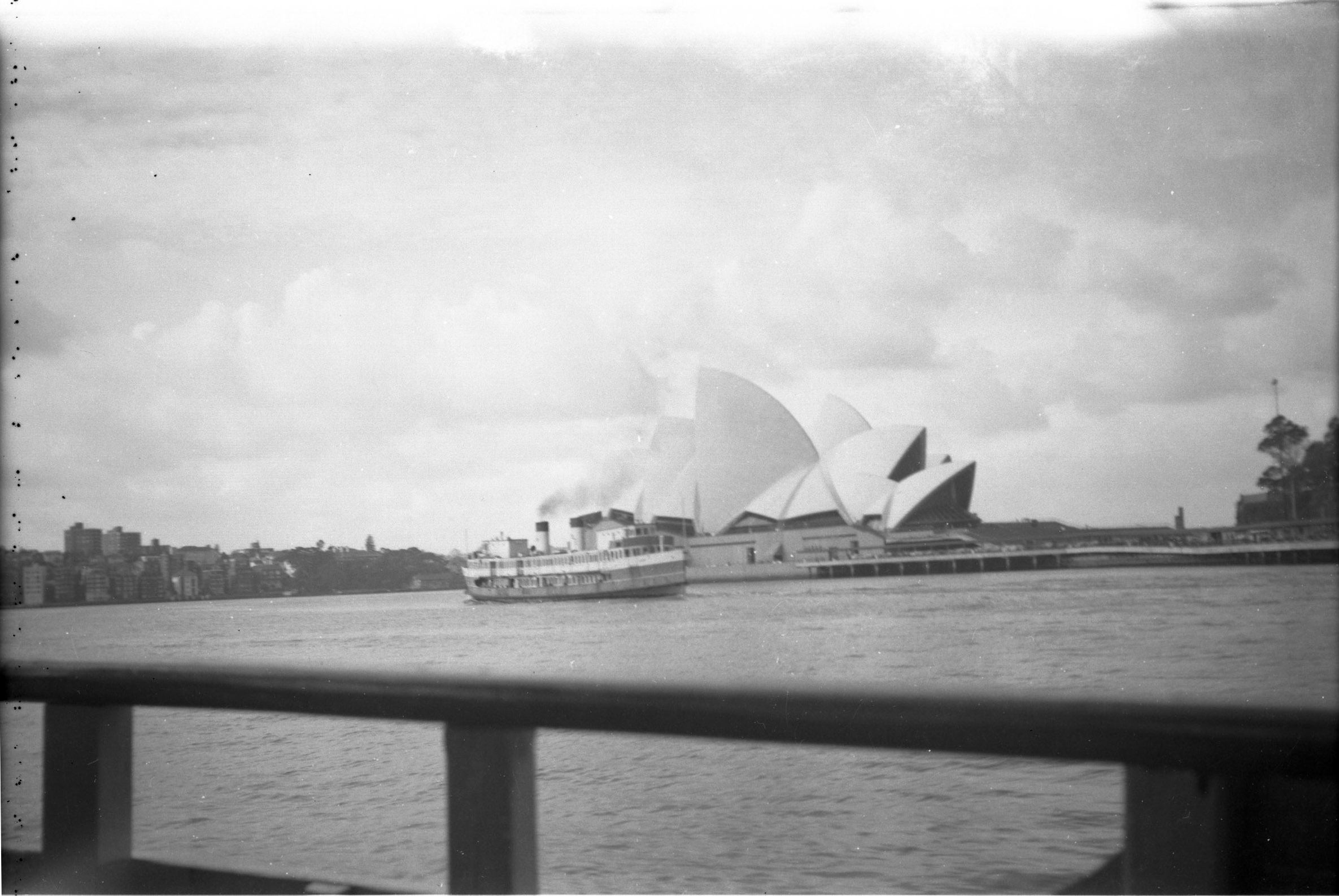 Sydney Opera House and Harbour. Date unknown.