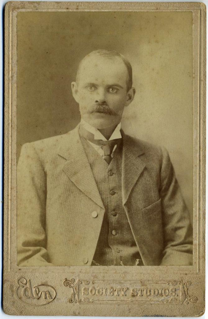 Unknown man, possibly  William Robert Slapp
