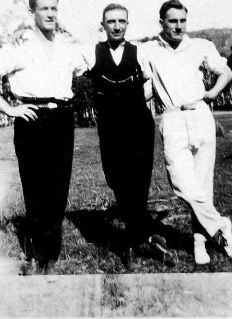 Ben Thew on the right at Blackheath