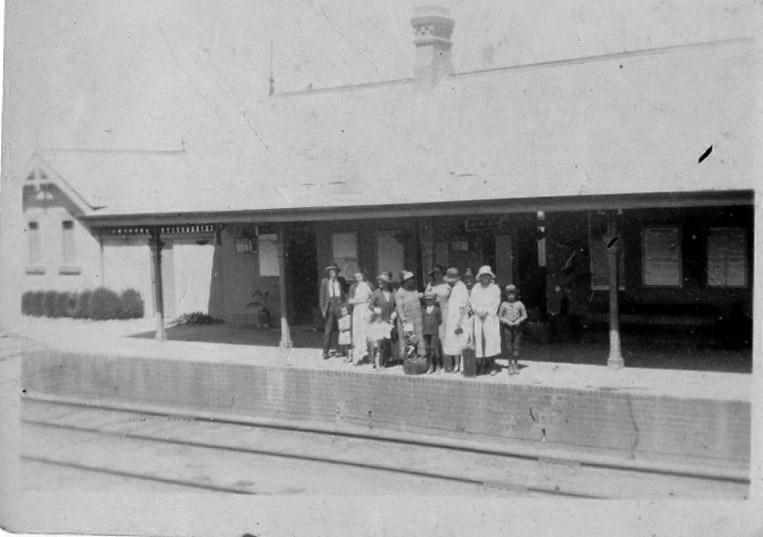 Clandulla Station 1926