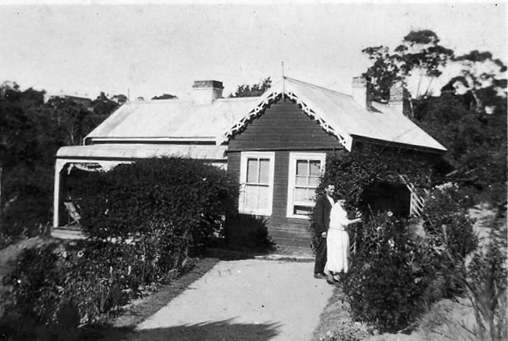George and Kitty Cousins at Blackheath