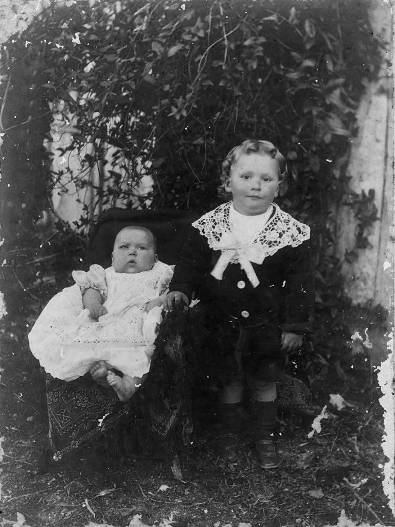 Jack and Jim Slapp at Clandulla. Sons of James Slapp