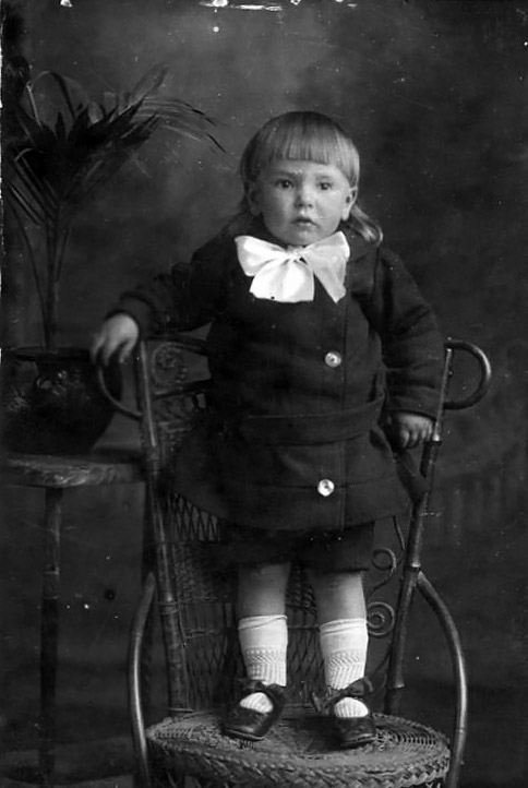 Lawson Fraser Slapp aged 2 years