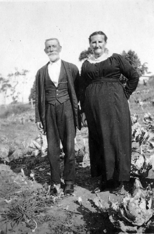 William and Jessie Slapp (clarke)