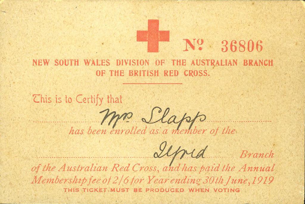Red Cross membership