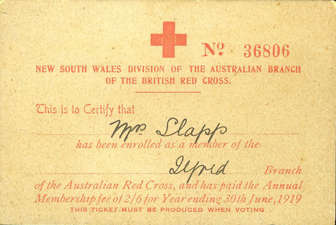Red Cross membership