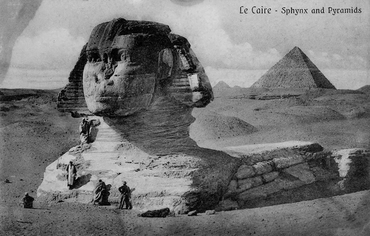 WW1 Egypt Postcard Book